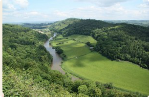 River Wye South, a great canoeing spot